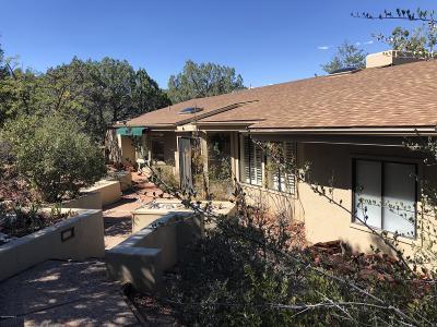 Sedona, Camp Verde, Cornville, Cottonwood, Lake Montezuma, Prescott, Prescott Valley, Rimrock Single Family Home For Sale: 201 Calle Privado
