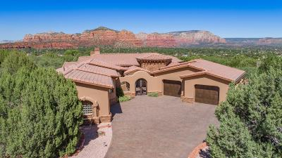 Sedona Single Family Home For Sale: 85 Crystal Sky Drive