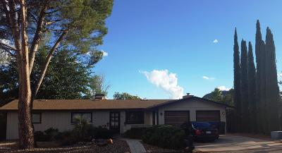 Sedona Single Family Home For Sale: 60 Horse Canyon Drive