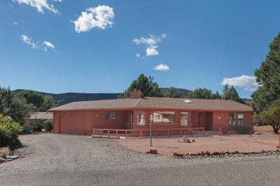 Sedona Single Family Home For Sale: 145 Moons View Rd