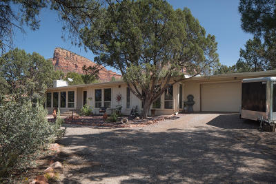 Sedona Single Family Home For Sale: 172 Fawn Drive