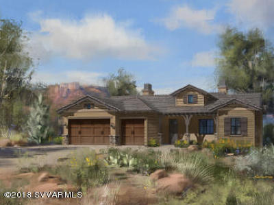 Sedona AZ Single Family Home For Sale: $998,270
