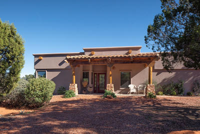Sedona, Camp Verde, Cornville, Cottonwood, Lake Montezuma, Prescott, Prescott Valley, Rimrock Single Family Home For Sale: 360 Arroyo Pinon Drive