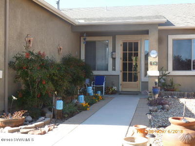 Camp Verde Single Family Home For Sale: 613 S Hitching Post Drive