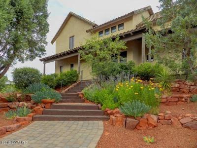 Sedona Single Family Home For Sale: 25 Wild Horse Mesa Circle