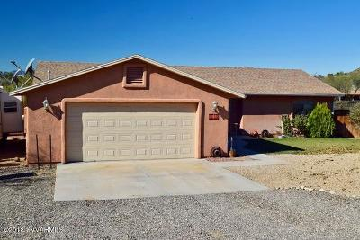 Rimrock Single Family Home For Sale: 5650 N Towers Drive