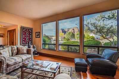 Sedona AZ Single Family Home For Sale: $850,000