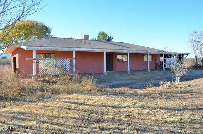 Yavapai County Single Family Home For Sale: 2361 N Mustang Lane