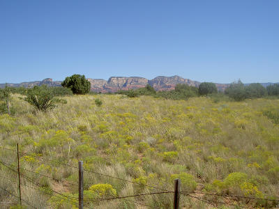 Sedona Residential Lots & Land For Sale: 4 Acre E Tomahawk Pass