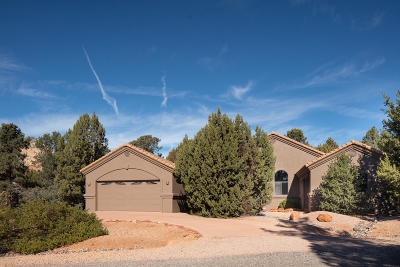 Sedona Single Family Home For Sale: 10 San Mateo Circle