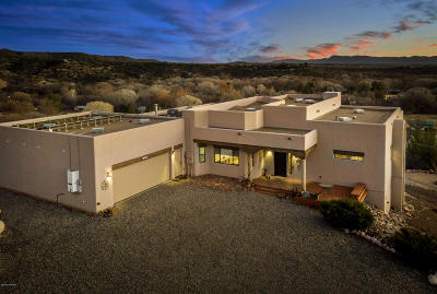 Yavapai County Single Family Home For Sale: 1435 N Page Springs Rd