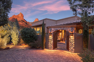 Sedona Single Family Home For Sale: 30 Canyon Shadows Drive