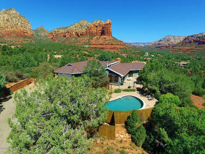 Sedona Single Family Home Active - Contingent Remove: 1557 Cline Rd