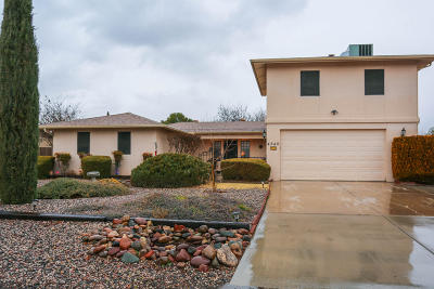 Cottonwood Single Family Home For Sale: 4340 Mustang Drive