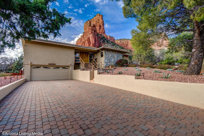 Sedona Single Family Home For Sale: 130 Coffee Pot Rock Rd