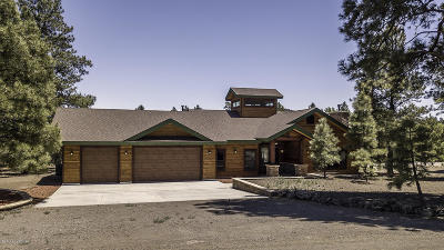 Flagstaff Single Family Home For Sale: 7461 Crockett Lane