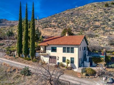 Yavapai County Single Family Home For Sale: 100 Upper Bell Rd