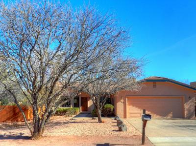 Sedona AZ Single Family Home For Sale: $899,000