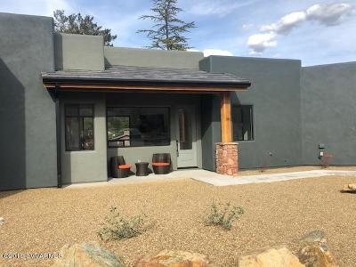 Sedona Single Family Home For Sale: 30 Tilley Lane