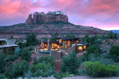 Sedona Single Family Home For Sale: 100 Scenic Drive