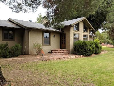 Camp Verde Single Family Home For Sale: 742 E Mahala Drive