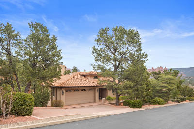Sedona Single Family Home For Sale: 105 Les Springs Drive