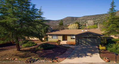 Sedona Single Family Home For Sale: 25 Gunsight Circle
