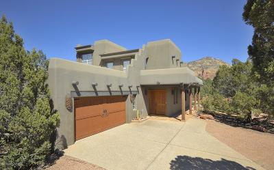 Sedona Single Family Home For Sale: 48 W Plumage Drive
