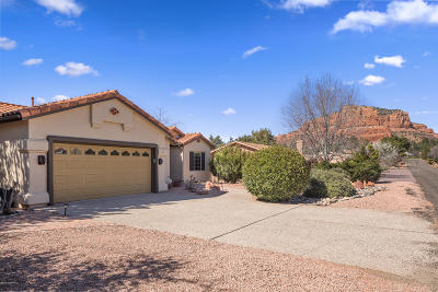 Sedona Single Family Home For Sale: 120 Creek Rock Rd