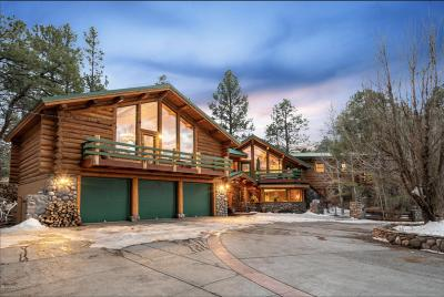 Flagstaff Single Family Home For Sale: 4690 Lake Mary Rd