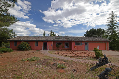 Sedona Single Family Home For Sale: 340 Roadrunner Drive