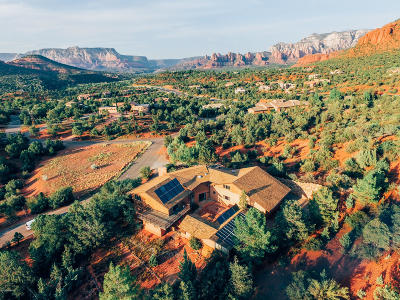 Sedona Single Family Home For Sale: 115 Cathedral Rock Tr