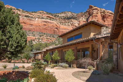Sedona Single Family Home For Sale: 3165 Lizard Head Lane