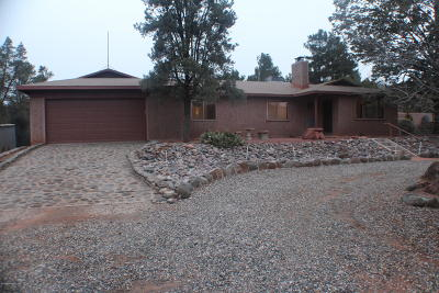 Sedona Single Family Home For Sale: 80 Jones Lane