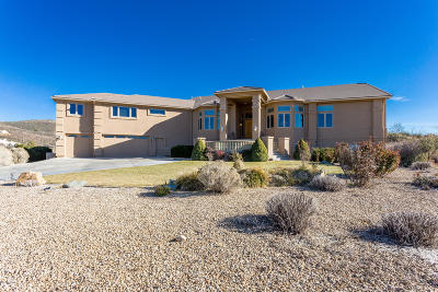 Yavapai County Single Family Home For Sale: 14617 E Meadow Ranch Place