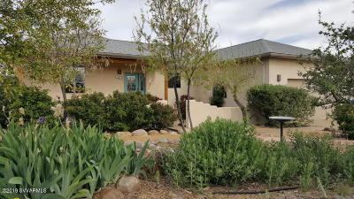 Prescott Single Family Home For Sale: 1045 Longview Drive