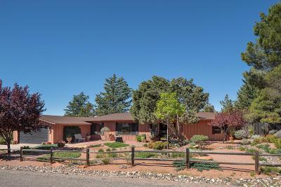 Sedona Single Family Home For Sale: 65 Pebble Drive