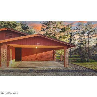 Sedona Single Family Home For Sale: 405 Fairway Oaks Drive