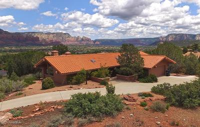 Sedona Single Family Home For Sale: 123 El Camino Real