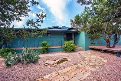 Sedona Single Family Home For Sale: 165 Zane Grey Drive
