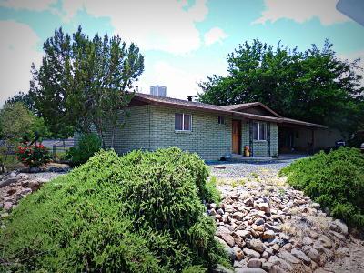 Cottonwood Single Family Home For Sale: 85 E Rancho Vista Way