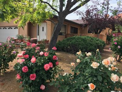 Sedona Single Family Home For Sale: 400 Fairway Oaks Drive