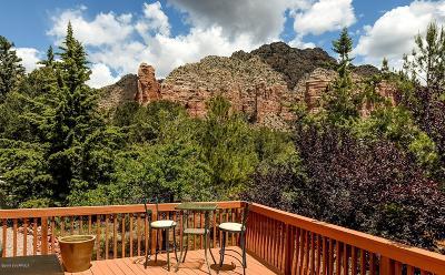 Sedona, Camp Verde, Cornville, Cottonwood, Lake Montezuma, Prescott, Prescott Valley, Rimrock Single Family Home For Sale: 240 Quail Hollow Drive