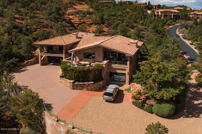 Sedona Single Family Home For Sale: 120 Les Springs Drive