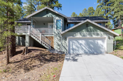 Flagstaff Single Family Home For Sale: 737 Pawnee