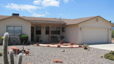 Camp Verde Single Family Home For Sale: 4351 E Canyon Drive