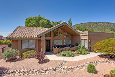 Sedona Single Family Home For Sale: 1315 Verde Valley School Rd