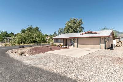 Cottonwood Single Family Home For Sale: 1264 Wild Burro Drive