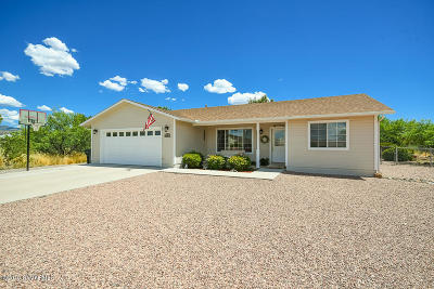 Camp Verde Single Family Home For Sale: 4401 E Valley View Rd