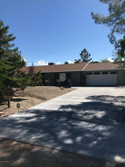 Sedona Single Family Home For Sale: 10 Page Pkwy